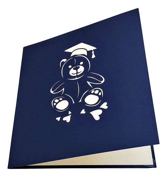 Graduation Bear 3D Pop Up Greeting Card 4