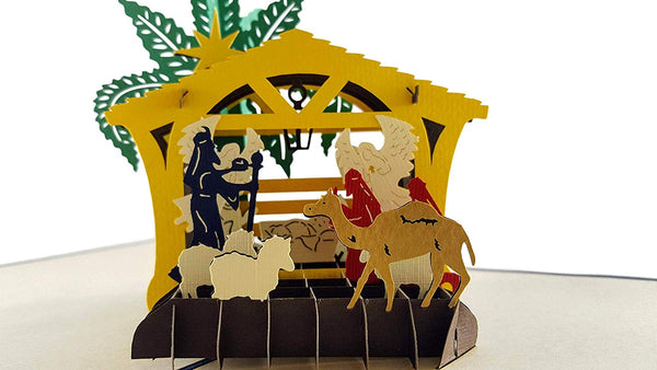 Three Kings Nativity 3D Pop Up Greeting Card 2