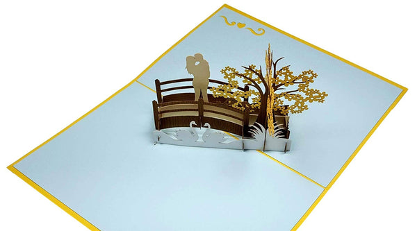 Happy 50th Anniversary 3D Pop Up Greeting Card 5