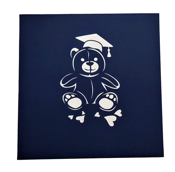 Graduation Bear 3D Pop Up Greeting Card 5