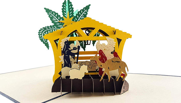 Three Kings Nativity 3D Pop Up Greeting Card 5