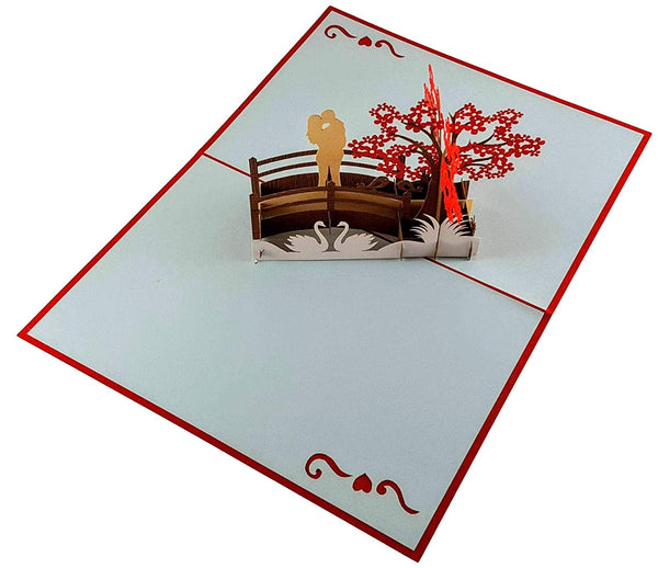 Happy Anniversary 3D Pop Up Greeting Card 3