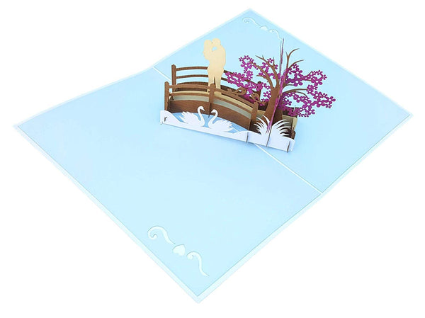 Happy 60th Anniversary 3D Pop Up Greeting Card 5