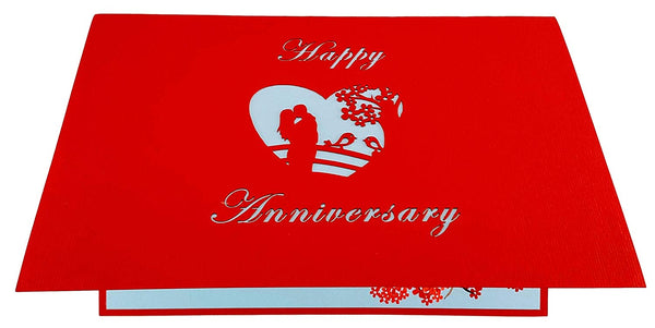 Happy Anniversary 3D Pop Up Greeting Card 6