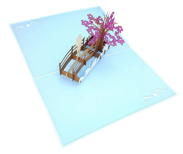 Happy 60th Anniversary 3D Pop Up Greeting Card 4
