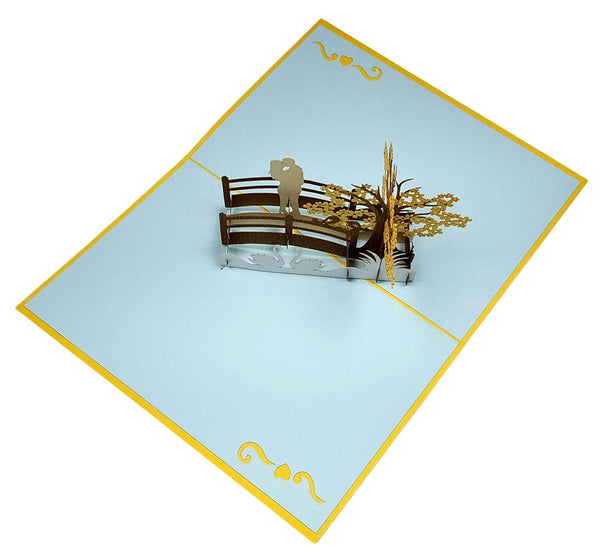 Happy 50th Anniversary 3D Pop Up Greeting Card 6