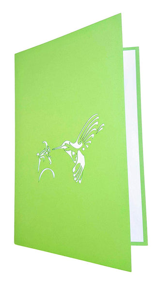 Hummingbird 3D Pop Up Greeting Card 7