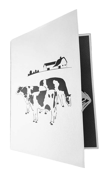 Dairy Cows 3D Pop Up Greeting Card 5