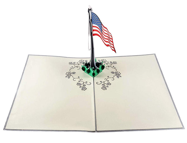 Military Appreciation 3D Pop Up Greeting Card 3