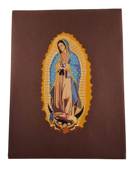 Our Lady Virgen de Guadalupe (Brown Cover) 3D Pop Up Greeting Card 8