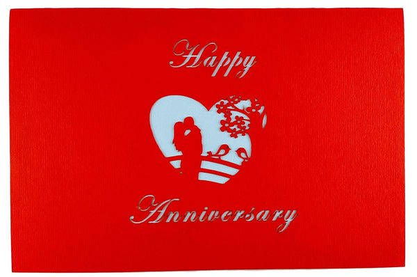 Happy Anniversary 3D Pop Up Greeting Card 7