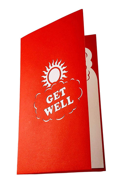 Sunshine Get Well 3D Pop Up Greeting Card 4