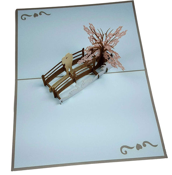 Happy 25th Anniversary 3D Pop Up Greeting Card 5