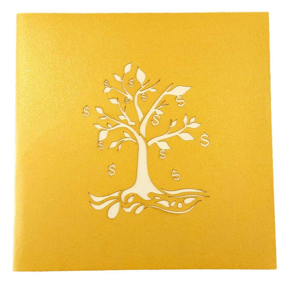 Money Tree 3D Pop Up Greeting Card 8