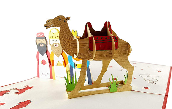 Three Kings 3D Pop Up Greeting Card 5