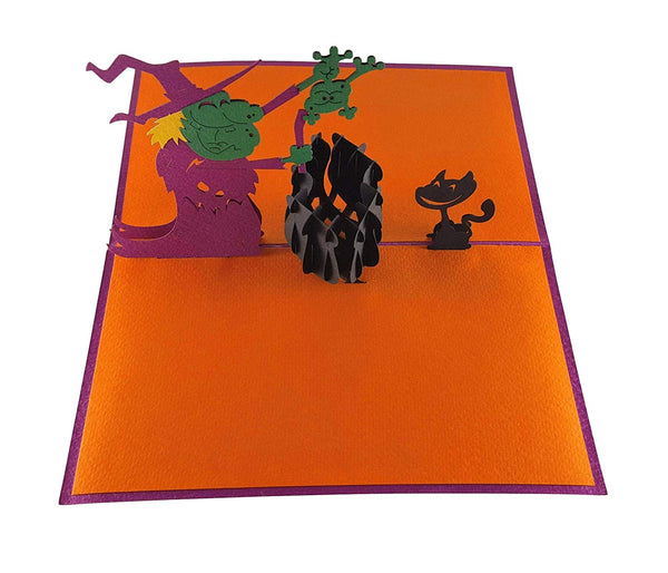 The Witch 3D Pop Up Greeting Card 3