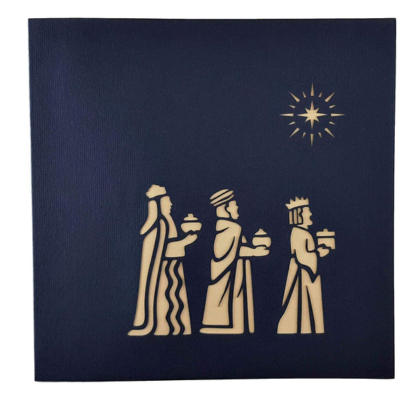 Three Kings Nativity 3D Pop Up Greeting Card 9