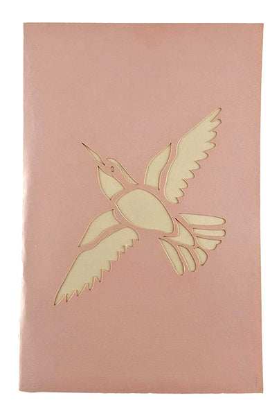 Dove With Olive Branch 3D Pop Up Greeting Card 7