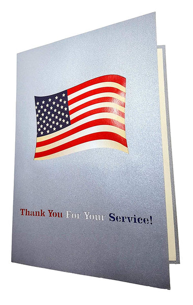 Military Appreciation 3D Pop Up Greeting Card 6