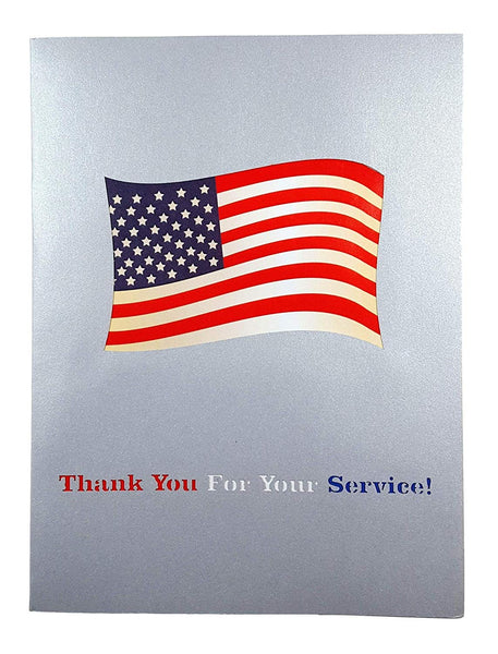 Military Appreciation 3D Pop Up Greeting Card 5
