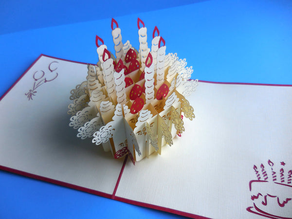 Awesome Birthday 3D Pop Up Greeting Card 2