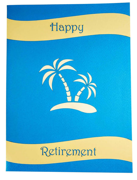 Awesome Happy Retirement 3D Pop Up Greeting 10