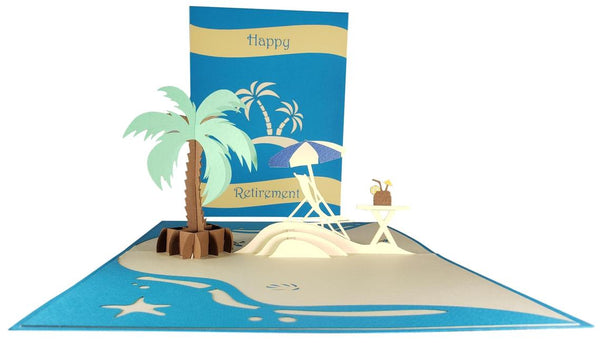 Awesome Happy Retirement 3D Pop Up Greeting 4