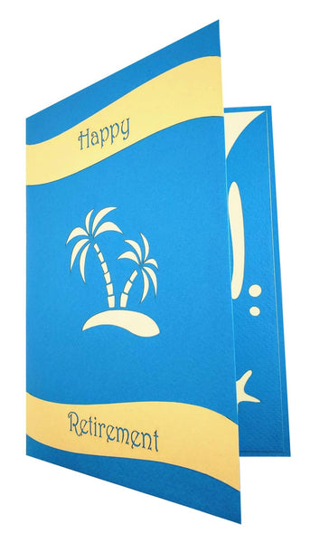 Awesome Happy Retirement 3D Pop Up Greeting 9