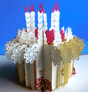 Awesome Birthday 3D Pop Up Greeting Card 1