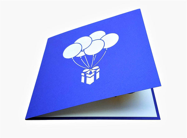 Balloon Bouquet 3D Pop Up Greeting Card 5