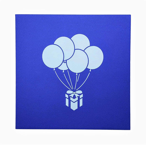 Balloon Bouquet 3D Pop Up Greeting Card 6