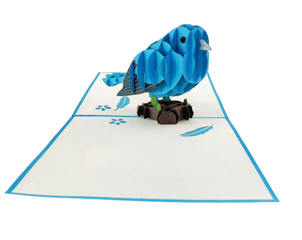 Bluebird of Happiness 3D Pop Up Greeting Card 2