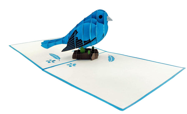Bluebird of Happiness 3D Pop Up Greeting Card 5