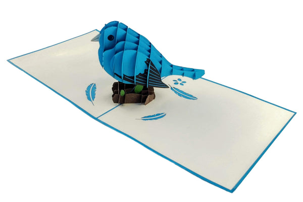 Bluebird of Happiness 3D Pop Up Greeting Card 6