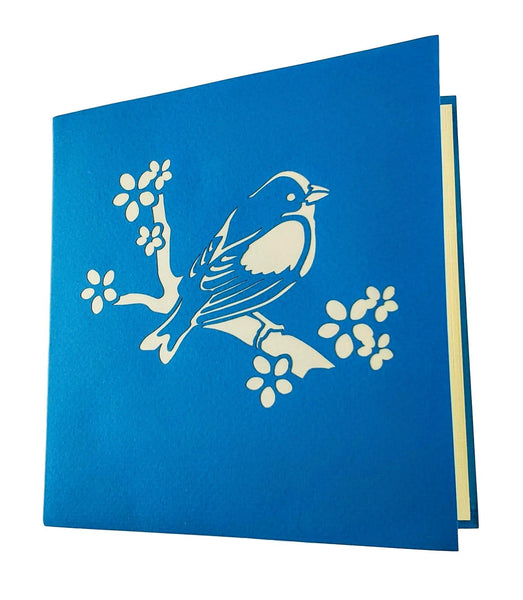 Bluebird of Happiness 3D Pop Up Greeting Card 7