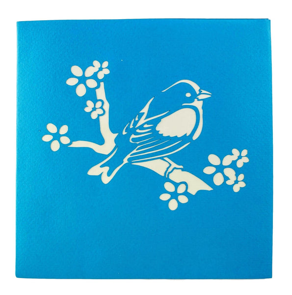 Bluebird of Happiness 3D Pop Up Greeting Card 8
