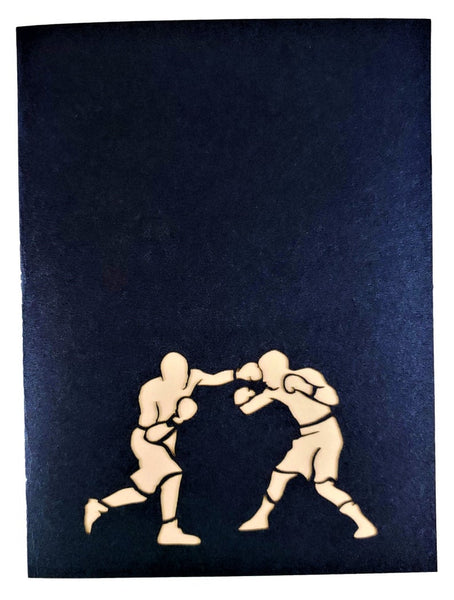 Boxing II 3D Pop Up Greeting Card 9