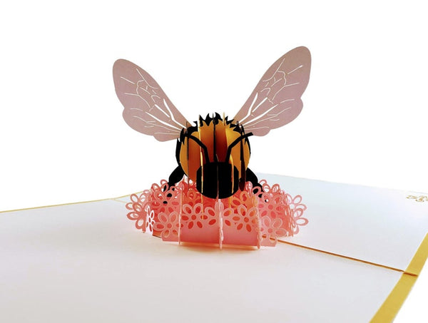 Bumblebee 3D Pop Up Card 2