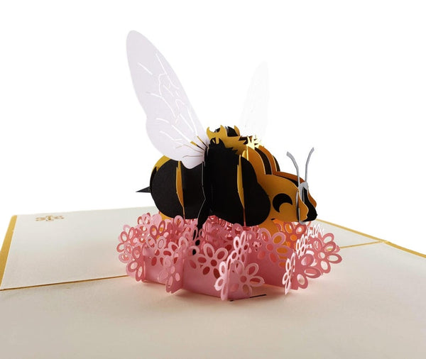 Bumblebee 3D Pop Up Card 3