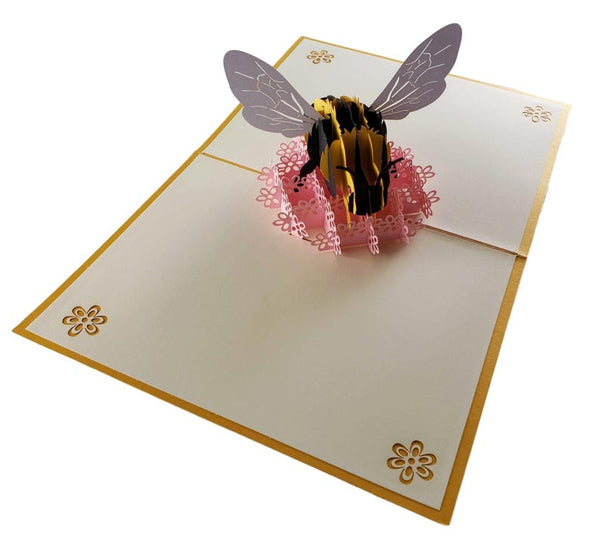Bumblebee 3D Pop Up Card 4