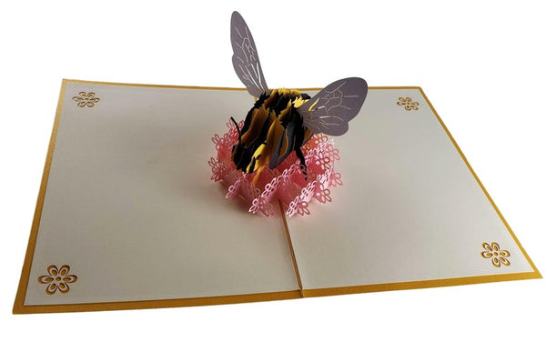 Bumblebee 3D Pop Up Card 5