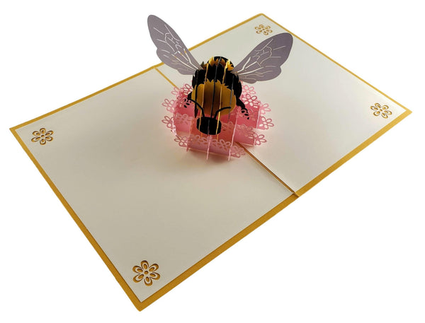 Bumblebee 3D Pop Up Card 6