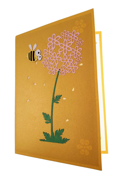 Bumblebee 3D Pop Up Card 7