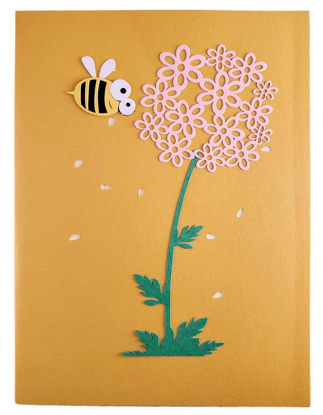Bumblebee 3D Pop Up Card 8
