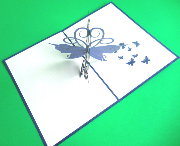 Butterfly 3D Pop Up Greeting Card2
