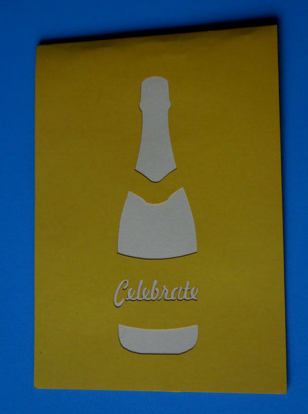 Celebrate 3D Pop Up Greeting Card 3