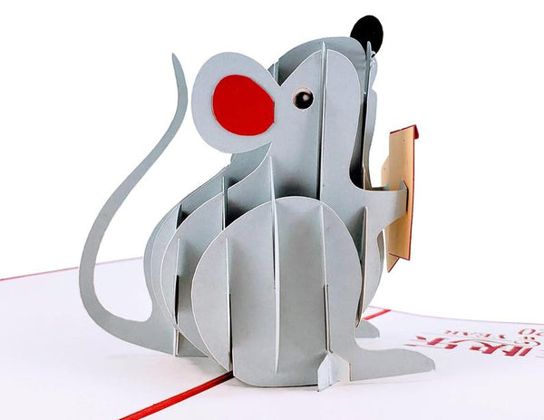 Chinese New Year Rat 3D Pop Up Greeting Card 4