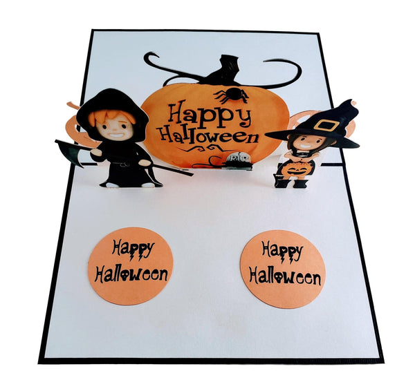 Dazzling Cute Halloween 3D Pop Up Greeting Card 2