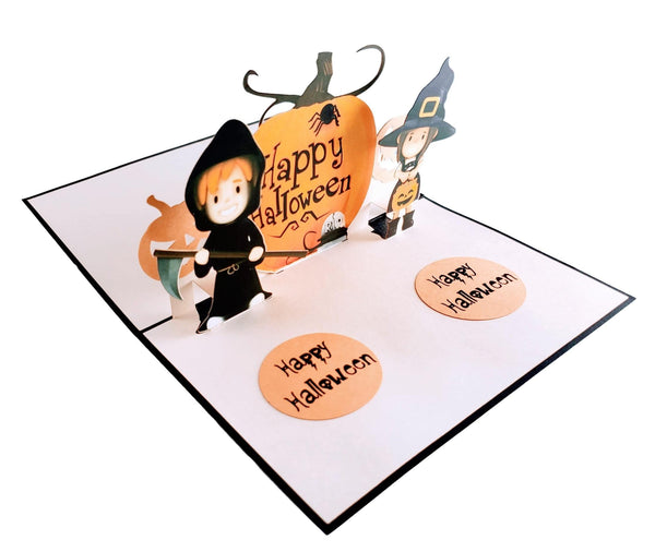 Dazzling Cute Halloween 3D Pop Up Greeting Card 4