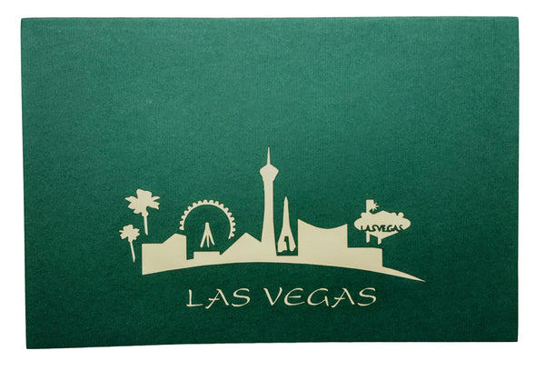 Las Vegas 3D Pop Up Greeting Card 6